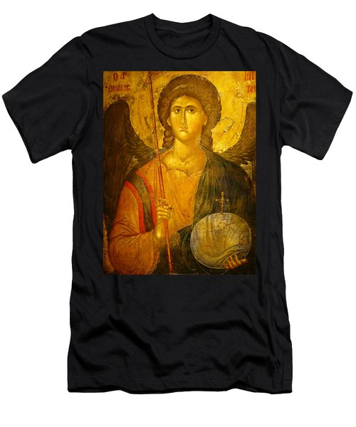 Michael The Archangel Men's T-Shirt (Athletic Fit)