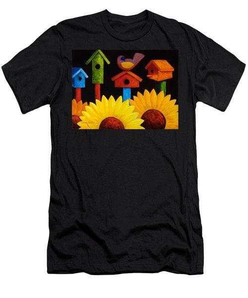 Midnight Garden Men's T-Shirt (Athletic Fit)