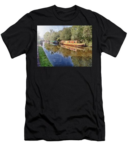 Moored Up Men's T-Shirt (Athletic Fit)