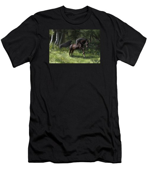 New Beginning Men's T-Shirt (Slim Fit) by Kate Black