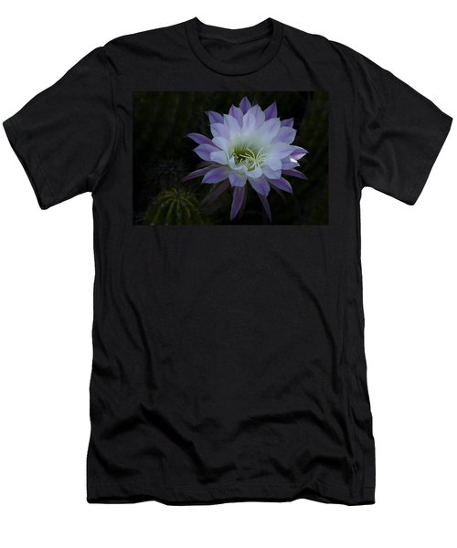 Night Blooming Cactus  Men's T-Shirt (Athletic Fit)