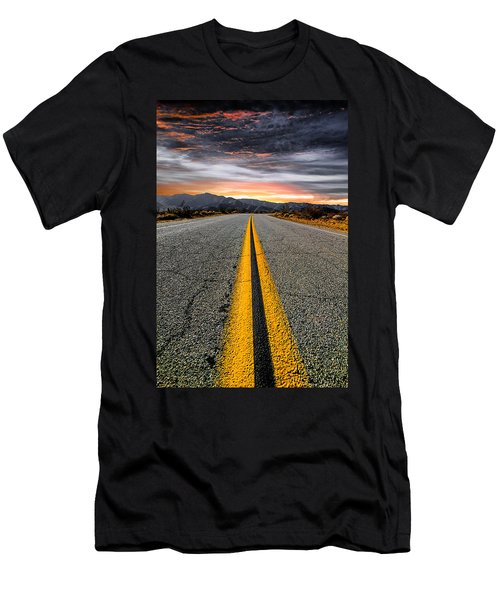 On Our Way  Men's T-Shirt (Athletic Fit)