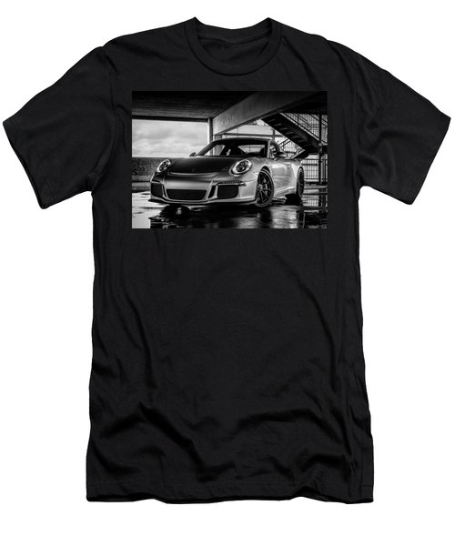 Porsche 911 Gt3 Men's T-Shirt (Slim Fit) by Douglas Pittman