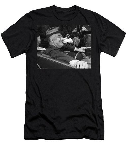President Franklin Roosevelt Men's T-Shirt (Athletic Fit)