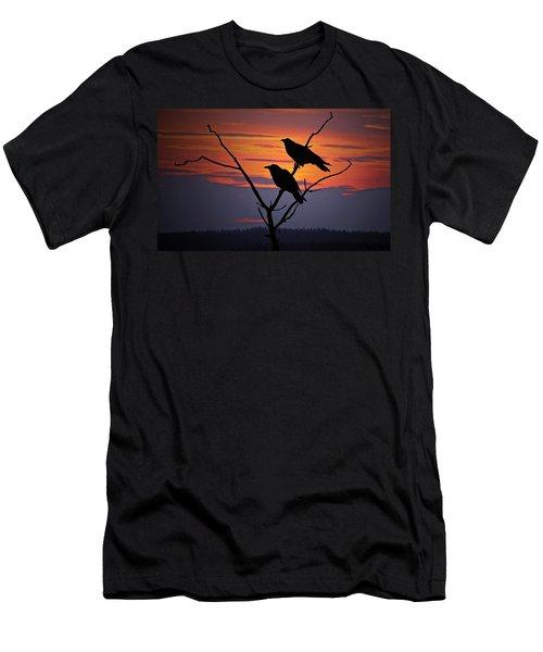 2 Ravens Men's T-Shirt (Athletic Fit)