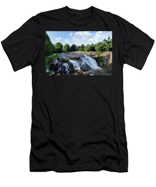 Reedy River Falls Men's T-Shirt (Athletic Fit)