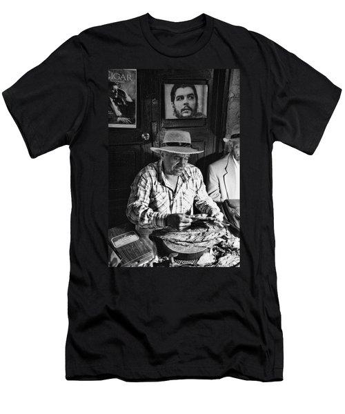 Rolling Cuban Cigars Men's T-Shirt (Athletic Fit)