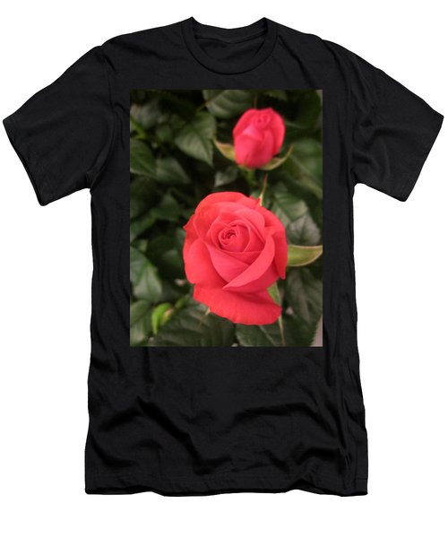Roses In Red Men's T-Shirt (Athletic Fit)