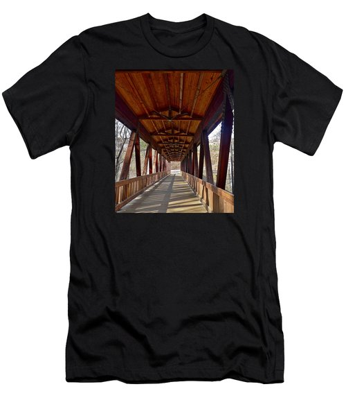 Roswell Bridge Men's T-Shirt (Athletic Fit)
