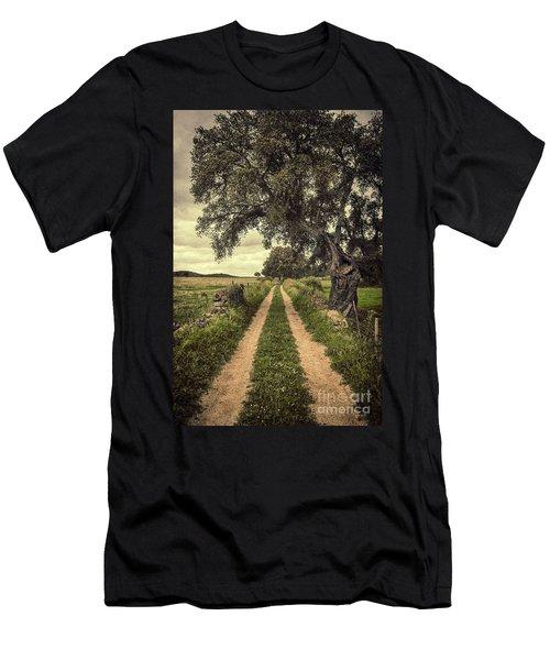 Rural Trail Men's T-Shirt (Athletic Fit)