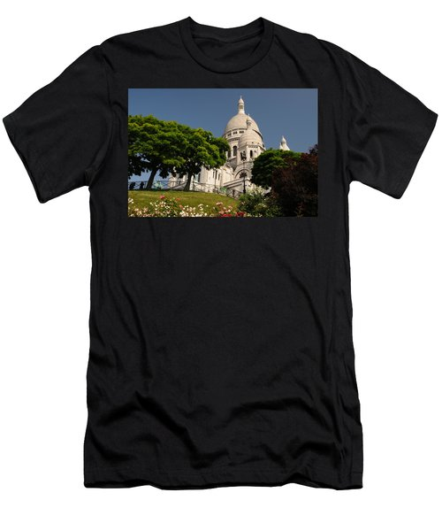 Men's T-Shirt (Slim Fit) featuring the photograph Sacre Coeur by Jeremy Voisey