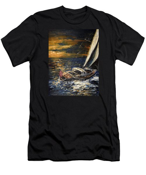 Sailing Men's T-Shirt (Athletic Fit)
