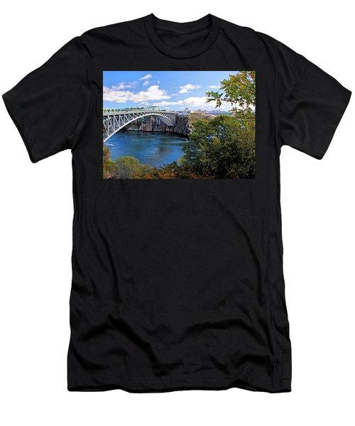 Men's T-Shirt (Slim Fit) featuring the photograph Saint John New Brunswick by Kristin Elmquist