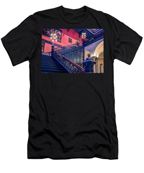 Men's T-Shirt (Slim Fit) featuring the photograph Sc State House by Rob Sellers