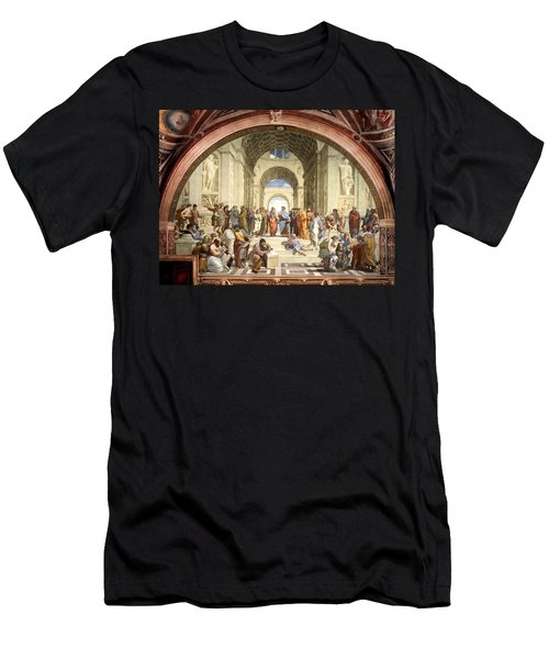 School Of Athens Men's T-Shirt (Athletic Fit)