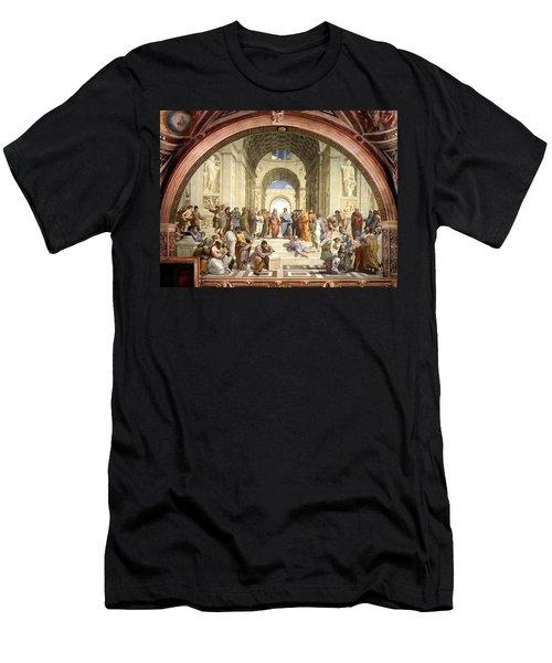 School Of Athens Men's T-Shirt (Athletic Fit)
