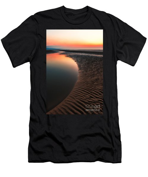 Seascape Sunset Men's T-Shirt (Athletic Fit)
