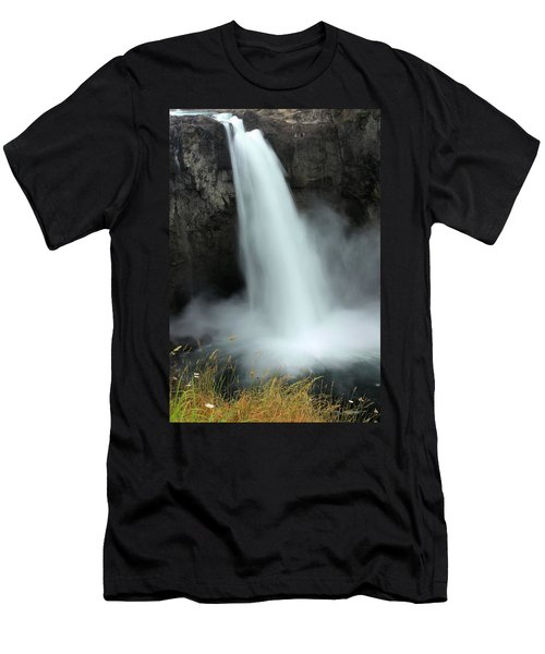 Snoqualmie Falls Men's T-Shirt (Athletic Fit)