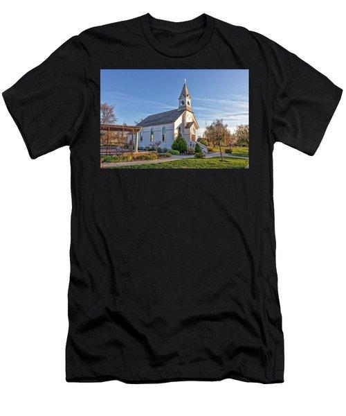 St. Mary's Chapel Men's T-Shirt (Athletic Fit)