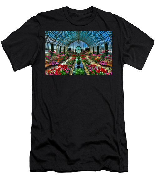 Sunken Garden Como Conservatory Men's T-Shirt (Athletic Fit)