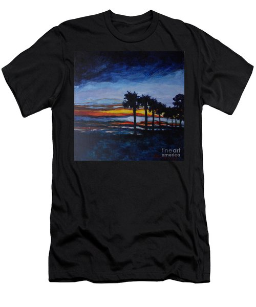 Sunset In St. Andrews Men's T-Shirt (Athletic Fit)