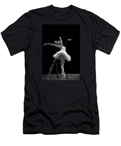 Swan Lake  White Adagio  Russia 3 Men's T-Shirt (Slim Fit) by Clare Bambers