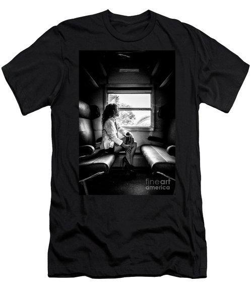 Take A Litte Trip Men's T-Shirt (Athletic Fit)