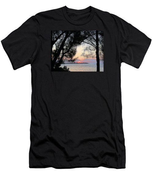 Men's T-Shirt (Slim Fit) featuring the photograph Tequila Sunrise by Amar Sheow