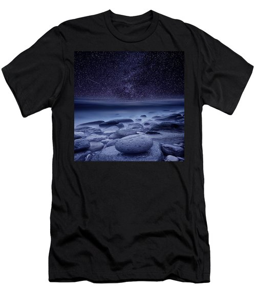 The Cosmos Men's T-Shirt (Slim Fit) by Jorge Maia