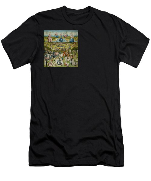 The Garden Of Earthly Delights Men's T-Shirt (Slim Fit) by Hieronymus Bosch