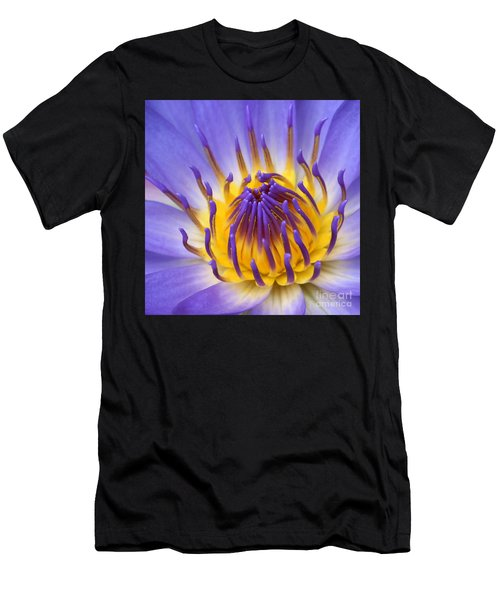 Men's T-Shirt (Athletic Fit) featuring the photograph The Lotus Flower by Sharon Mau