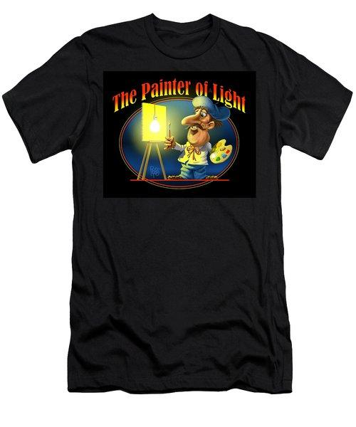 The Painter Of Light Men's T-Shirt (Athletic Fit)