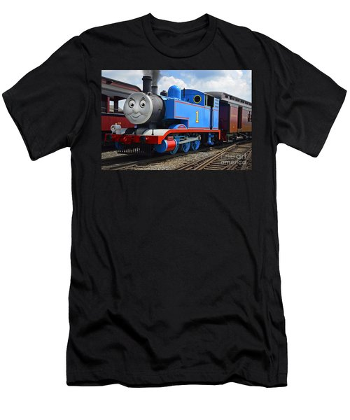 Thomas The Engine Men's T-Shirt (Athletic Fit)