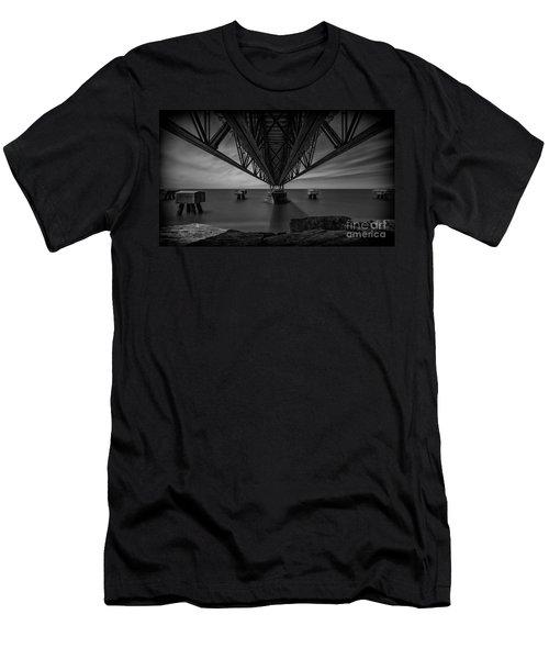 Under The Pier Men's T-Shirt (Slim Fit) by James Dean