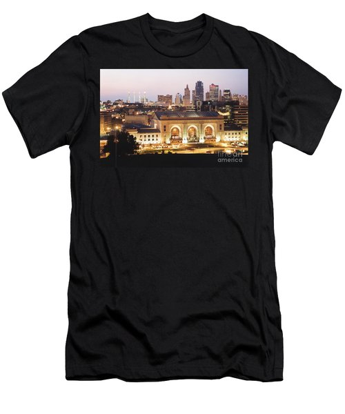Union Station Evening Men's T-Shirt (Athletic Fit)