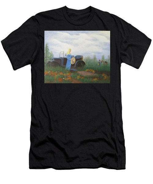 Waiting For A Picnic Men's T-Shirt (Athletic Fit)