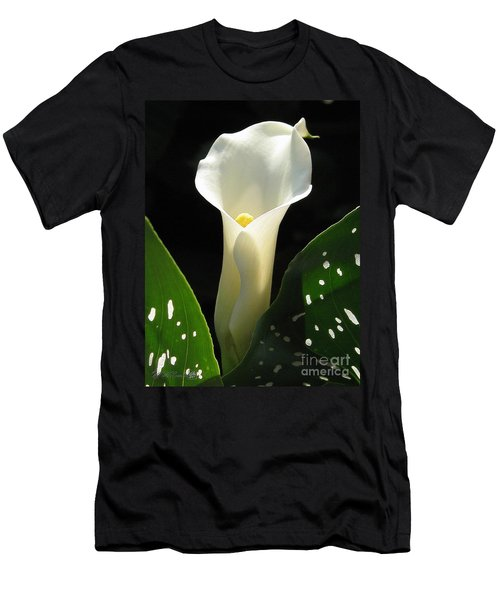 Zantedeschia Named Little Jimmy Men's T-Shirt (Athletic Fit)
