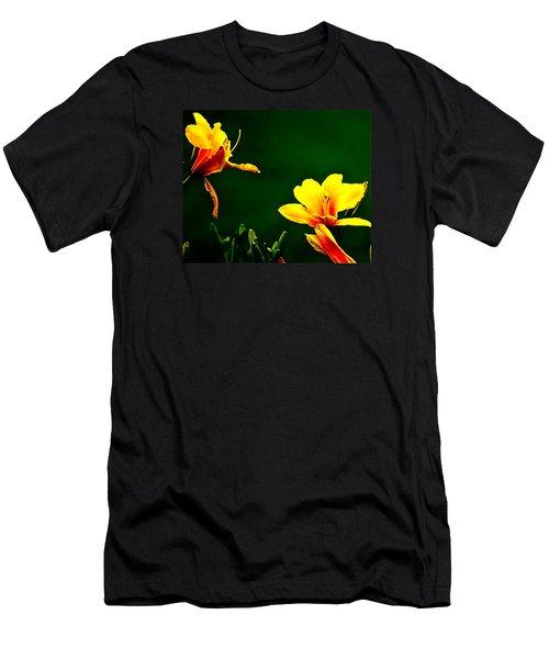 Talking Flower Heads Men's T-Shirt (Athletic Fit)