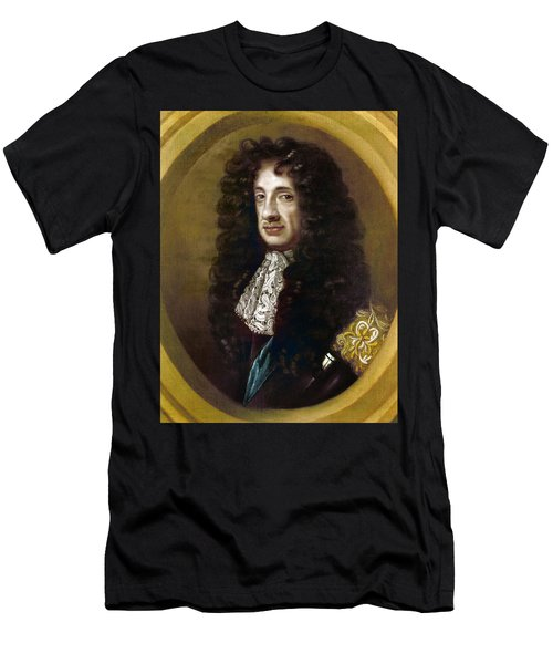 Charles II (1630-1685) Men's T-Shirt (Athletic Fit)