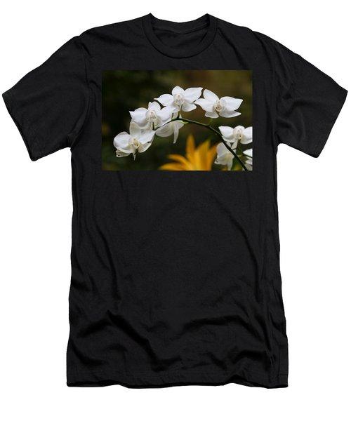 Orchids Men's T-Shirt (Slim Fit) by John Freidenberg