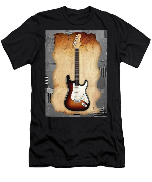 Fender Stratocaster Collection Men's T-Shirt (Athletic Fit)
