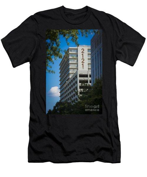 2121 Building Men's T-Shirt (Athletic Fit)