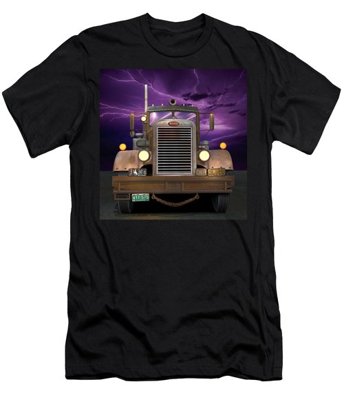 1955 Peterbilt Men's T-Shirt (Athletic Fit)