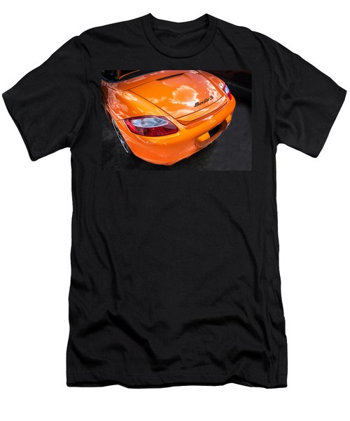 2008 Porsche Limited Edition Orange Boxster  Men's T-Shirt (Athletic Fit)