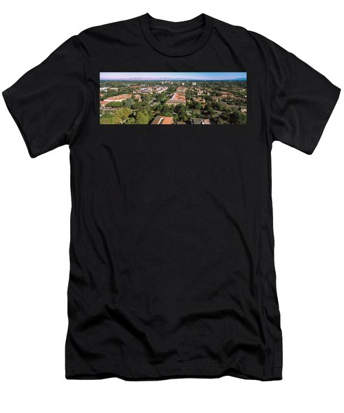 Aerial View Of Stanford University Men's T-Shirt (Athletic Fit)