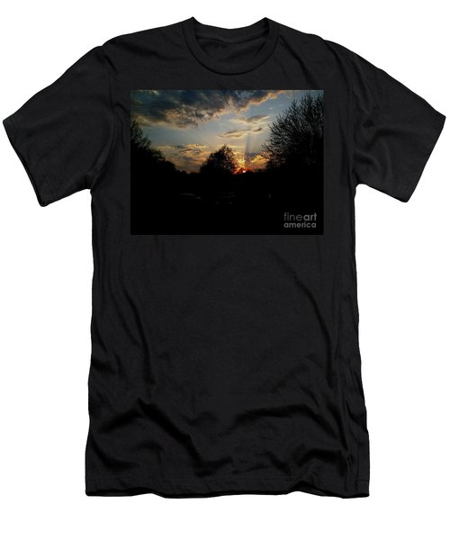 Beauty In The Sky Men's T-Shirt (Slim Fit) by Kelly Awad