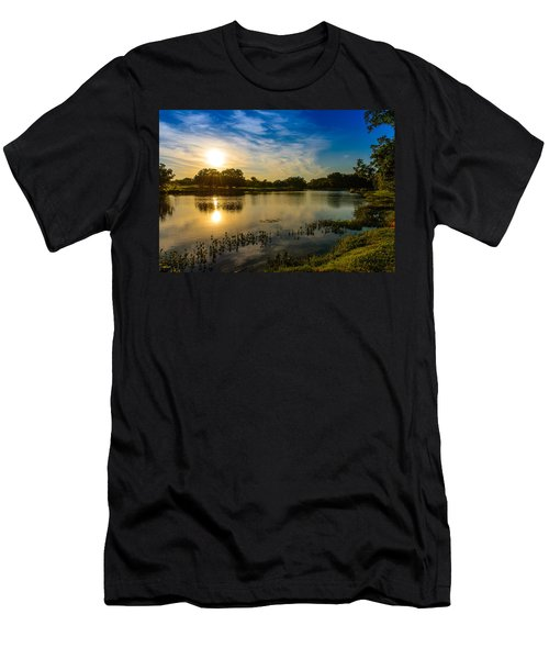 Berry Creek Pond Men's T-Shirt (Athletic Fit)