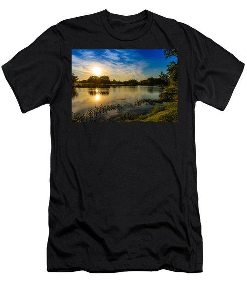 Berry Creek Pond Men's T-Shirt (Athletic Fit)