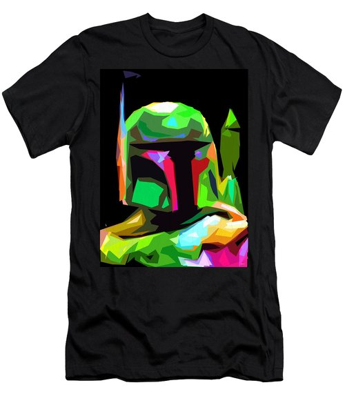 Boba Fett Star Wars Men's T-Shirt (Slim Fit) by Daniel Janda