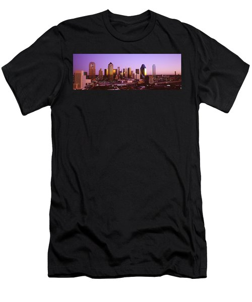 Dallas, Texas, Usa Men's T-Shirt (Slim Fit) by Panoramic Images